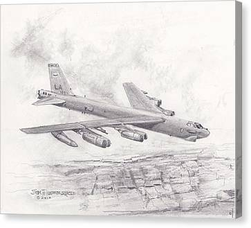 Usaf B-52 Stratofortress  Canvas Print
