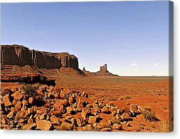 Utah's Iconic Monument Valley Canvas Print by Christine Till
