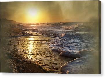 Coasting Canvas Print - Vacant Paradise by Betsy Knapp