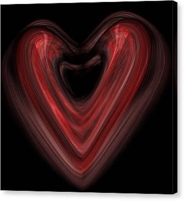 Valentine Canvas Print by Christopher Gaston