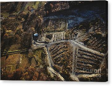 Valley Of The Drums, Bullitt County Canvas Print