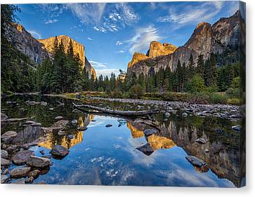 Yosemite Valley Canvas Print - Valley View II by Peter Tellone