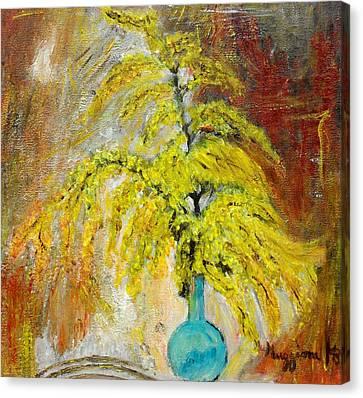 Vase Of Spring Canvas Print