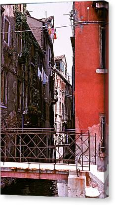 Canvas Print featuring the photograph Venice by Ira Shander