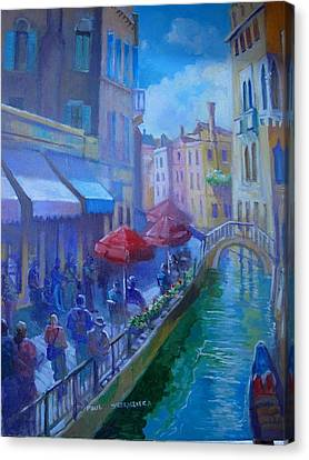 Venice  Italy Canvas Print by Paul Weerasekera