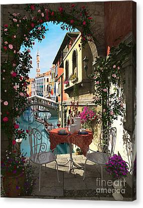 Venice Vue Canvas Print by Dominic Davison