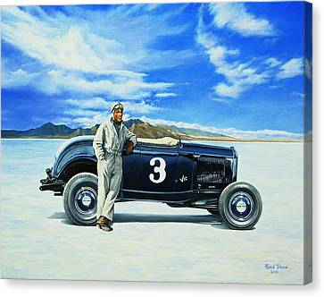 Vic Edelbrock #2 Canvas Print by Ruben Duran