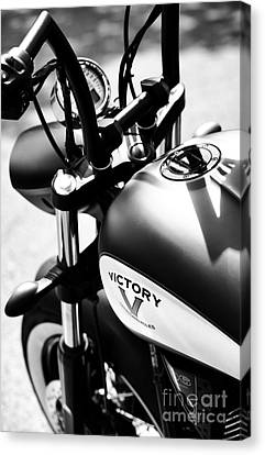 Victory Motorbike Canvas Print by Tim Gainey