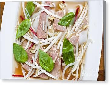 Vietnamese Food Details Canvas Print