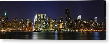 View From Gantry Plaza State Park Canvas Print by Theodore Jones