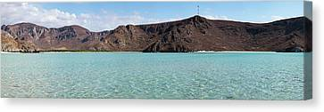 View Of Cliffs From Balandra Bay Beach Canvas Print by Panoramic Images