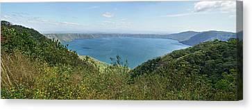 View Of Laguna De Apoyo Canvas Print