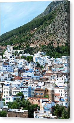 View Of The City, Chefchaouen (chaouen Canvas Print by Nico Tondini