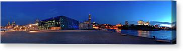 View Of The Palais Du Pharo, Fort Canvas Print