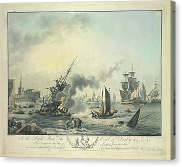 Views Of Liverpool Canvas Print by British Library
