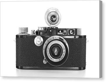 Vintage Camera Canvas Print by Chevy Fleet