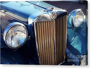 Vintage Mg  Canvas Print by Jon Neidert