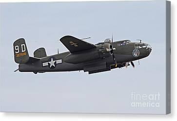 Vintage World War II Bomber Canvas Print