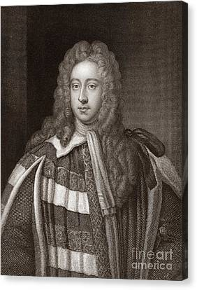 Viscount Bolingbroke, English Statesman Canvas Print by Middle Temple Library