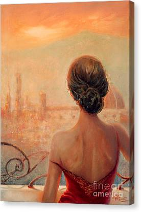 Visions Of Florence Canvas Print