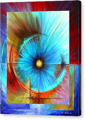 Vortex Canvas Print by James Christopher Hill