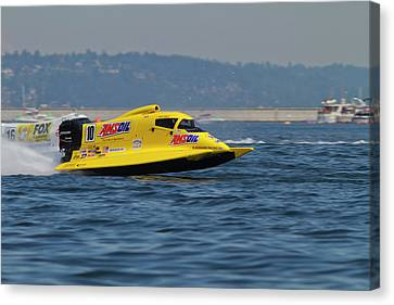Wa, Seattle, Seafair, Formula One (f1 Canvas Print by Jamie and Judy Wild