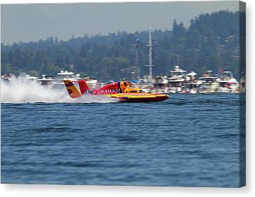 Wa, Seattle, Seafair, Unlimited Canvas Print by Jamie and Judy Wild