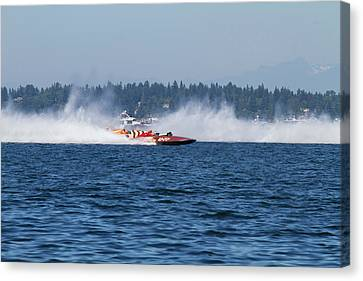 Wa, Seattle, Seafair, Vintage Canvas Print by Jamie and Judy Wild