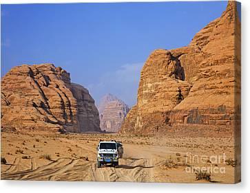Wadi Rum In Jordan Canvas Print