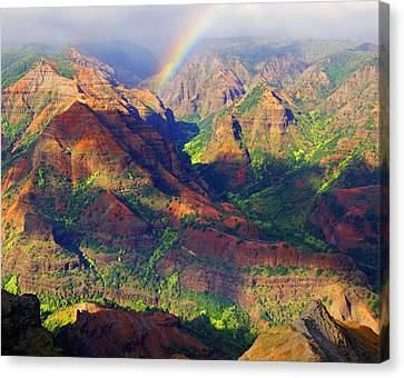 Waimea Canyon Kauai  Canvas Print by Kevin Smith