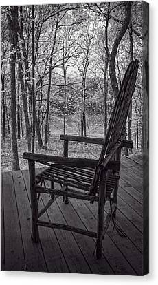 Waiting For Spring Canvas Print by Wayne Meyer