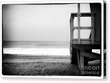 Waiting For You Canvas Print by John Rizzuto