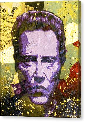 Walken My Ass Off Canvas Print by Bobby Zeik