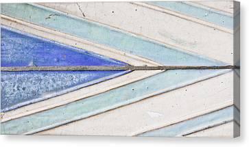 Wall Tiles Canvas Print by Tom Gowanlock