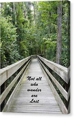 Wander Canvas Print by Laurie Perry