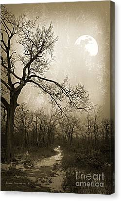 Everlasting Moon Canvas Print