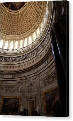 Washington Dc - Us Capitol - 011312 Canvas Print by DC Photographer