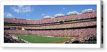 Washington Redskins Fedex Field Canvas Print by Unknown