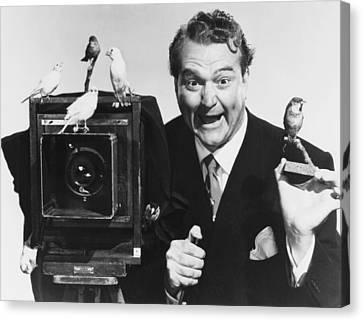 1950 Movies Canvas Print - Watch The Birdie, Red Skelton, 1950 by Everett
