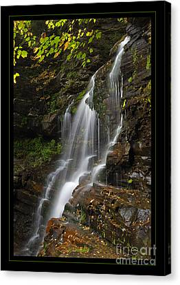 Water On The Mountain Canvas Print by John Stephens