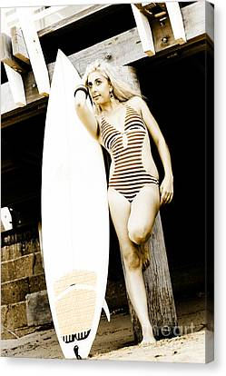 Water Sport And Recreation Canvas Print