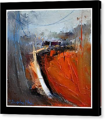 Way Home Serie Canvas Print by David Figielek