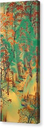 Way To Atago Canvas Print by Mountain Dreams