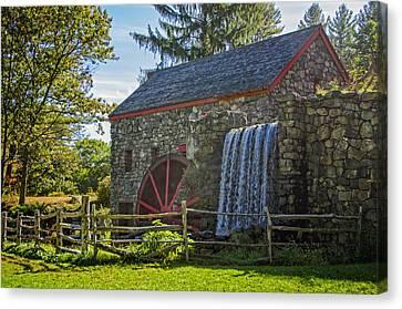 Wayside Inn Grist Mill Canvas Print