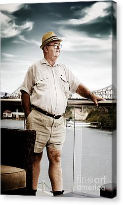 Wealthy Retired Man Canvas Print by Jorgo Photography - Wall Art Gallery