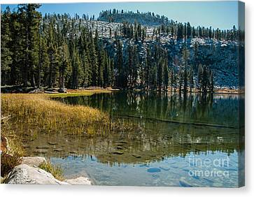 Weaver Lake- 1-7686 Canvas Print
