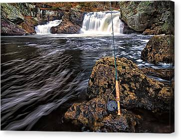 1 Weight On The Isinglass. Canvas Print