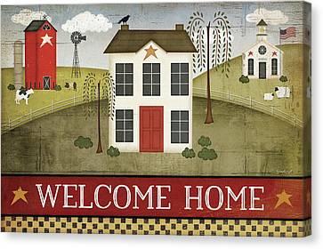 Welcome Home Canvas Print by Jennifer Pugh
