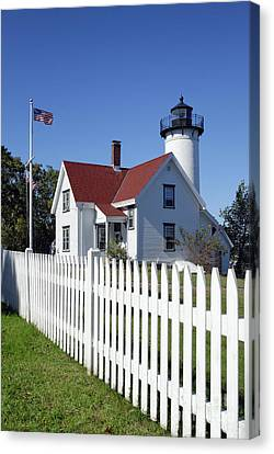 West Chop Lighthouse Canvas Print by John Greim