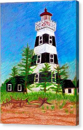 West Point Lighthouse Canvas Print